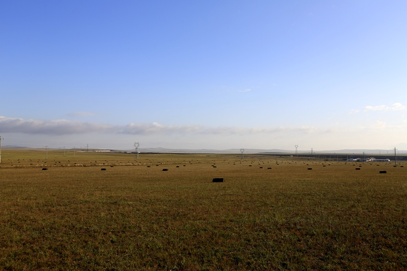 沿路風景    中午時分,在省道203看到一處蒙古包,是個度假村,結果開車